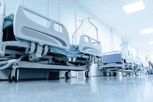 Leitos em hospitais