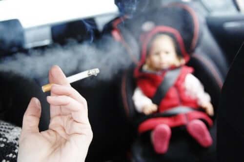 Cigarro e problemas respiratórios em crianças