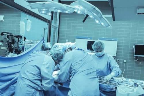 Cirurgia nos ouvidos