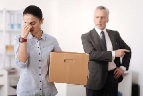 Medo da demissão