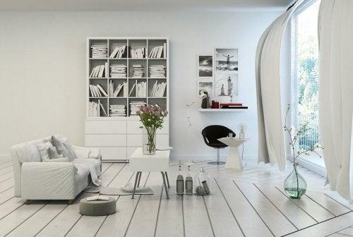 Descubra como fazer uma decoração com tons neutros na sua casa