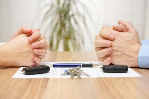 Como fazer a partilha das dívidas em um divórcio?