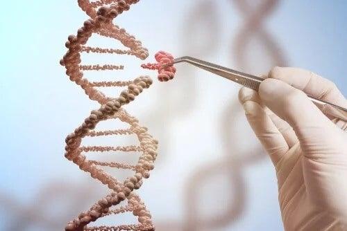 Mutação genética no DNA
