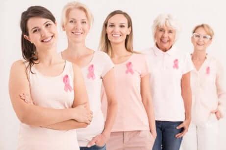 Juntas contra o câncer de mama
