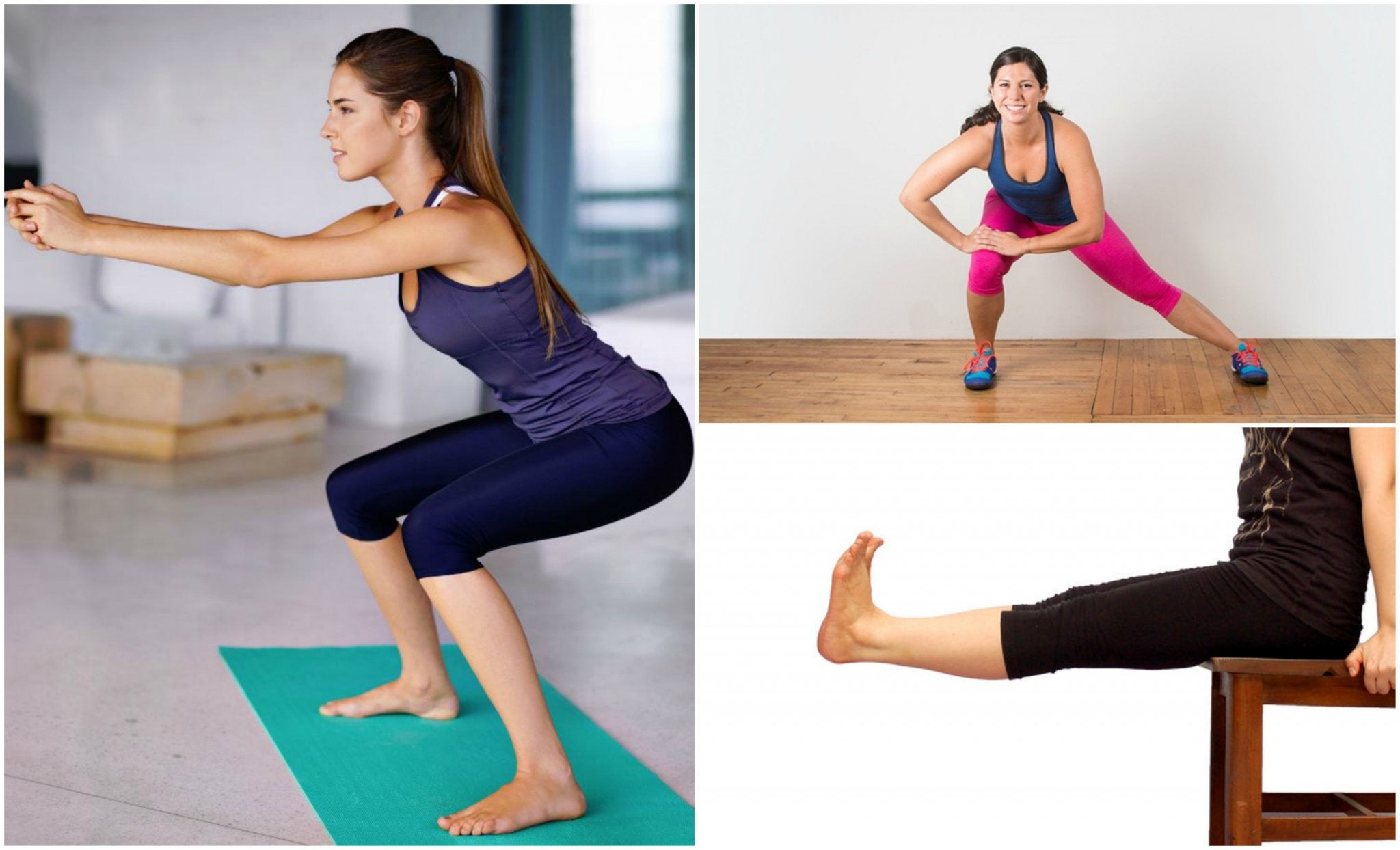 Exercícios para as pernas
