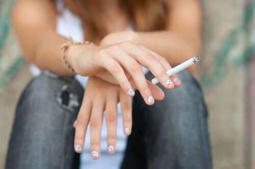 O cigarro na adolescência