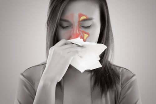 Dor de cabeça de sinusite