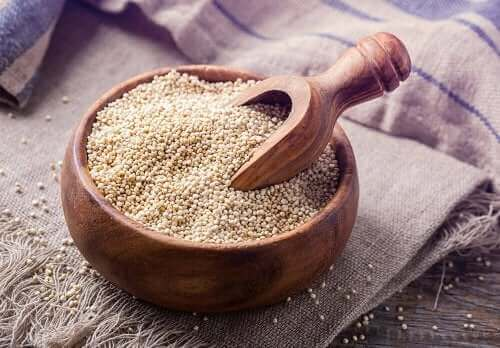 Tigela de quinoa