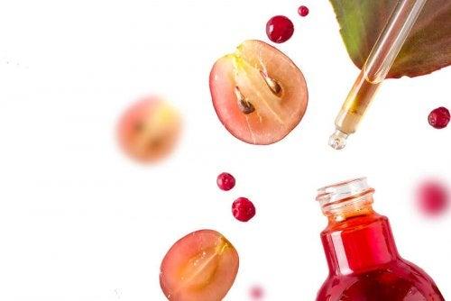 Tratamentos à base de uva para rejuvenescer a pele