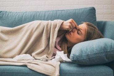4 soluções contra a dor de cabeça de sinusite