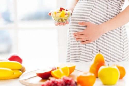 Dieta saudável na gravidez