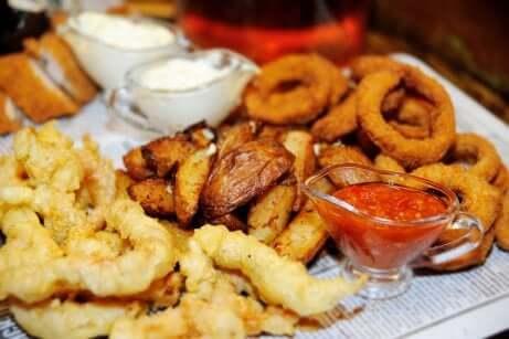 Alimentos fritos
