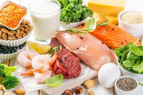 Fontes de vitaminas do complexo B