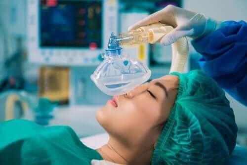 Anestesia antes de cirurgia