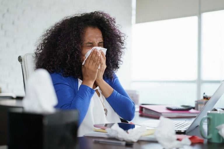 Como a alergia se desenvolve?