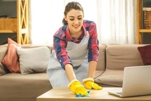 Higiene excessiva em casa