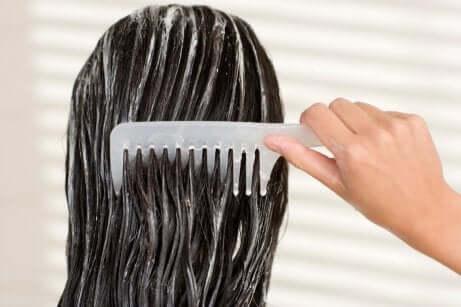 Hidratação dos cabelos