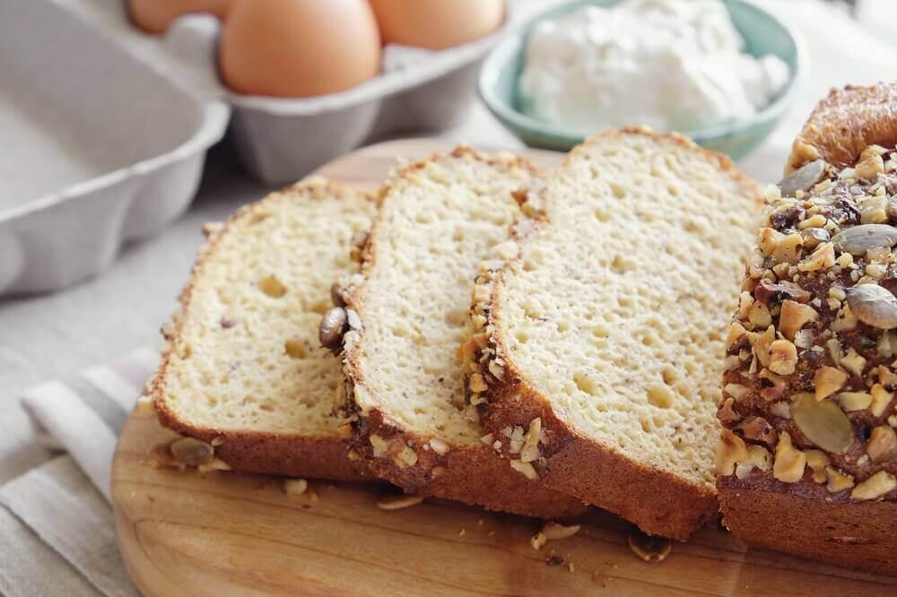 Receitas saudáveis de pão
