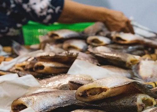 Sintomas de intoxicação por consumo de peixes