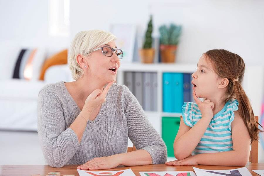 Problema de fala em crianças