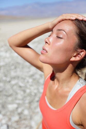 Anidrose, a incapacidade de suar normalmente