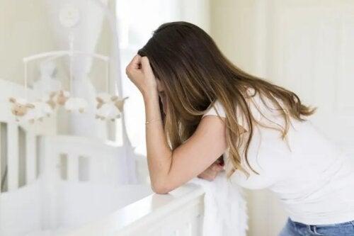 Mãe com depressão pós-parto