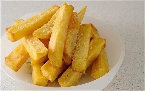 Batata frita e acrilamida