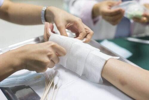 Paciente com queimaduras