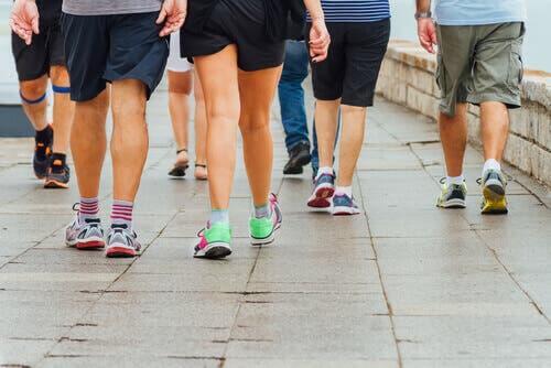 Caminhar para melhorar a circulação