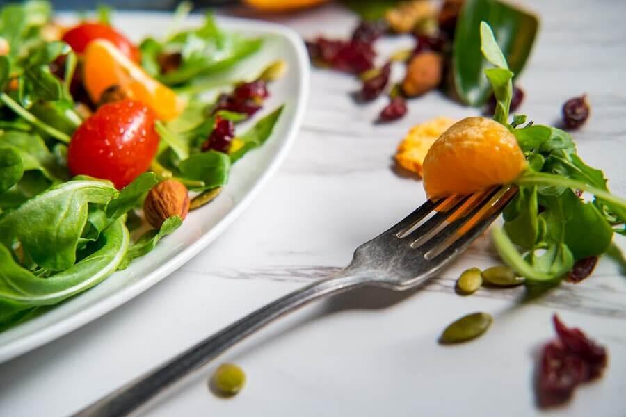 Salada fresca de cítricos