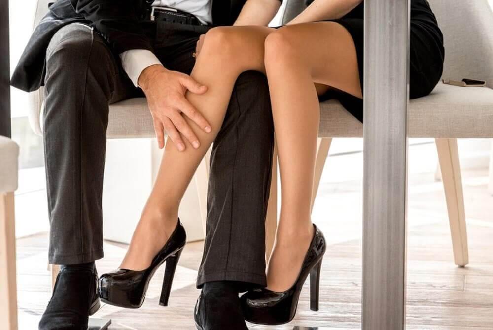 Sonhos eróticos com o chefe