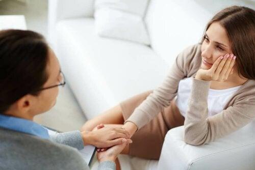 Receber apoio psicológico