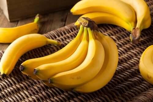 Os benefícios da banana e seu teor de potássio