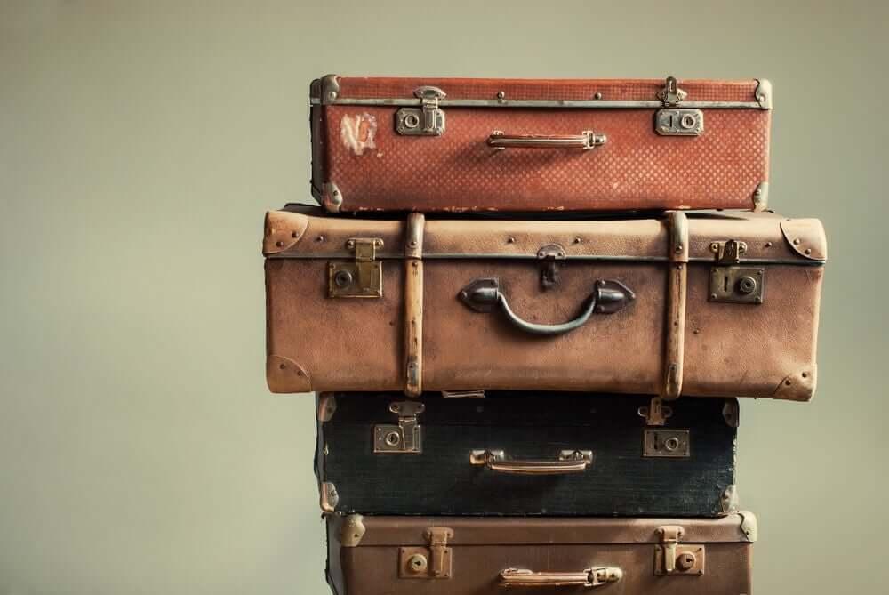 Malas prontas para viajar