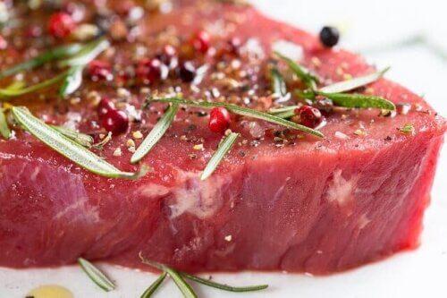 Carne: dieta rica em proteínas