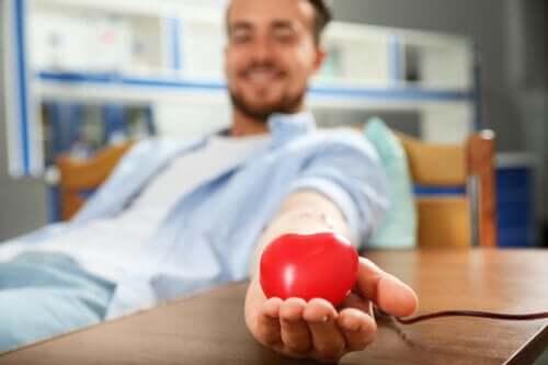 Por que é bom doar sangue?