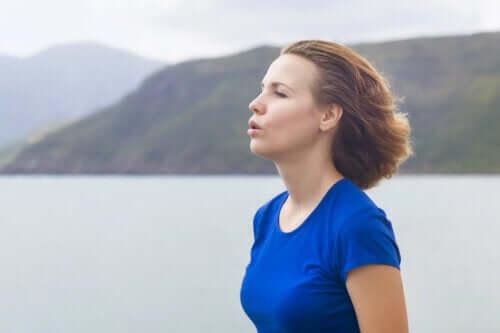 Dificuldade de respirar durante o exercício