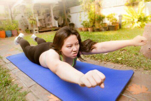 Exercícios adaptados à escoliose