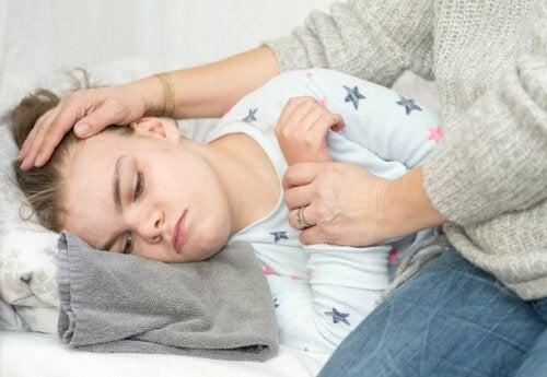 Criança com epilepsia