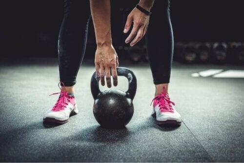 Exercício com peso