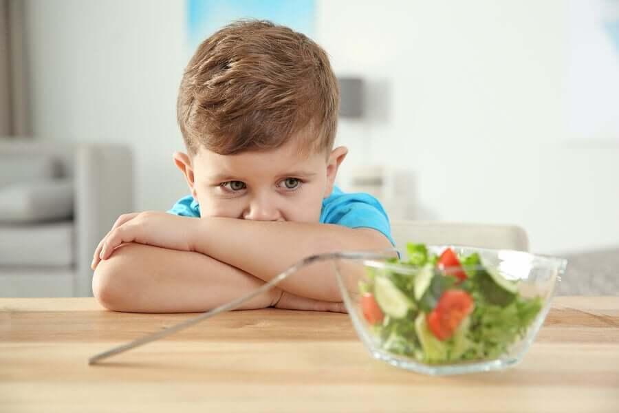 Transtornos alimentares em crianças com autismo