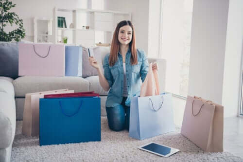 4 sinais de que você é viciado em compras