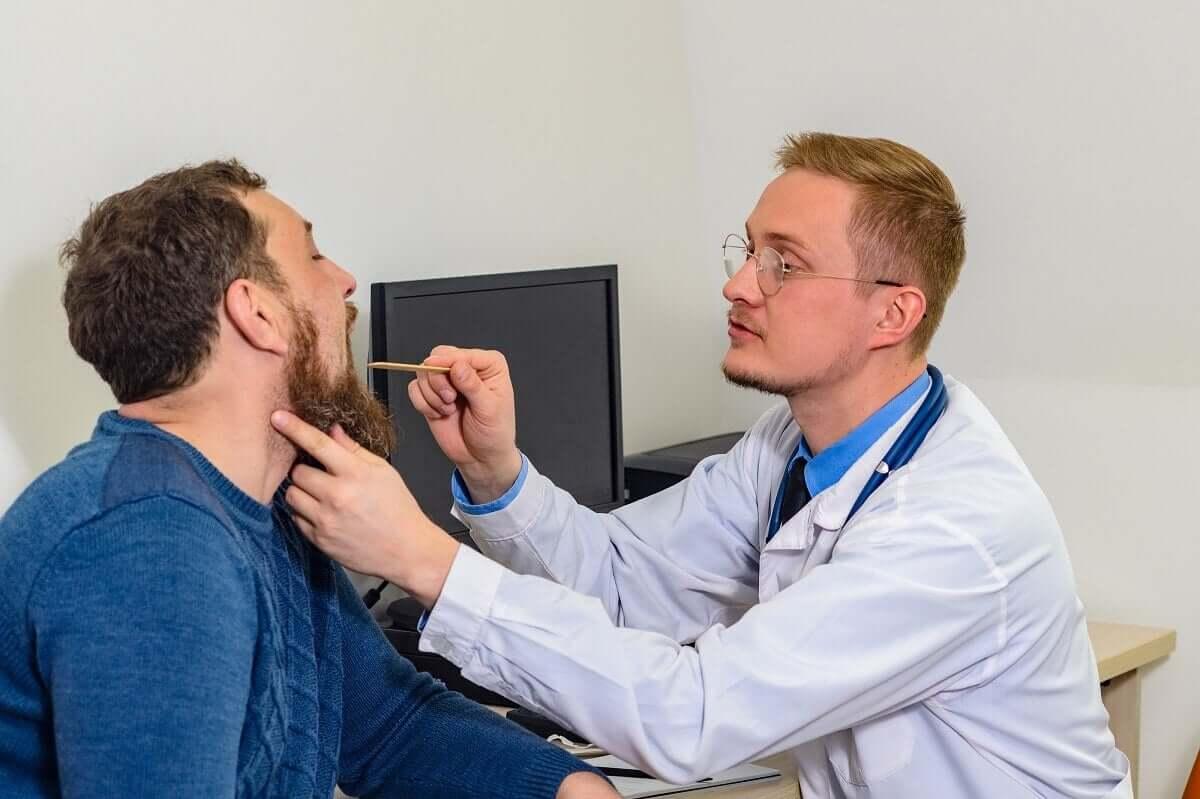 Cordas vocais inflamadas