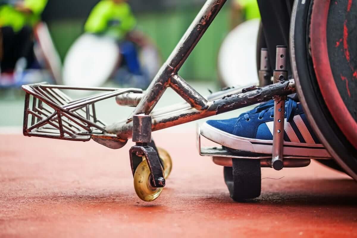 Pessoa com paralisia