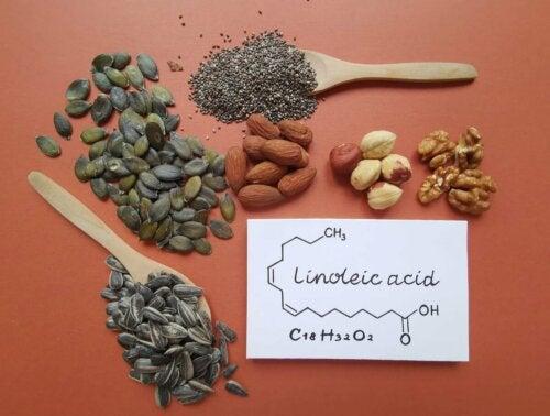Sementes com ácido linoleico