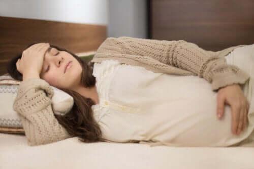 O que fazer em caso de dismenorreia durante a gravidez?