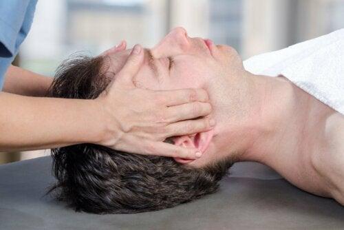 Fisioterapia para a mandíbula