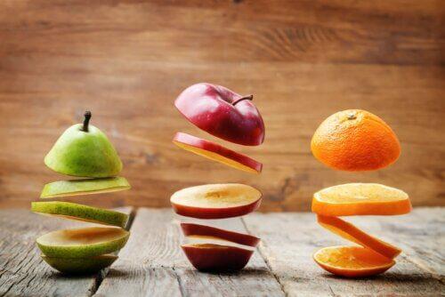 Frutas para uma alimentação saudável