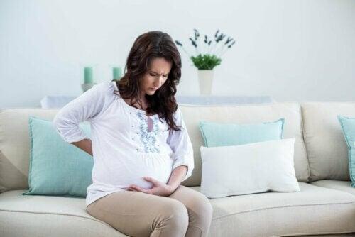 Dor abdominal na gravidez