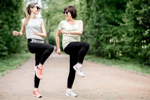 Exercícios para a bursite do quadril